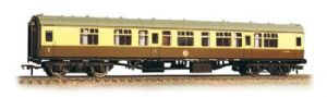Bachmann 39-129C BR Mark 1 CK (Composite Corridor), Chocolate/Cream livery, Weathered